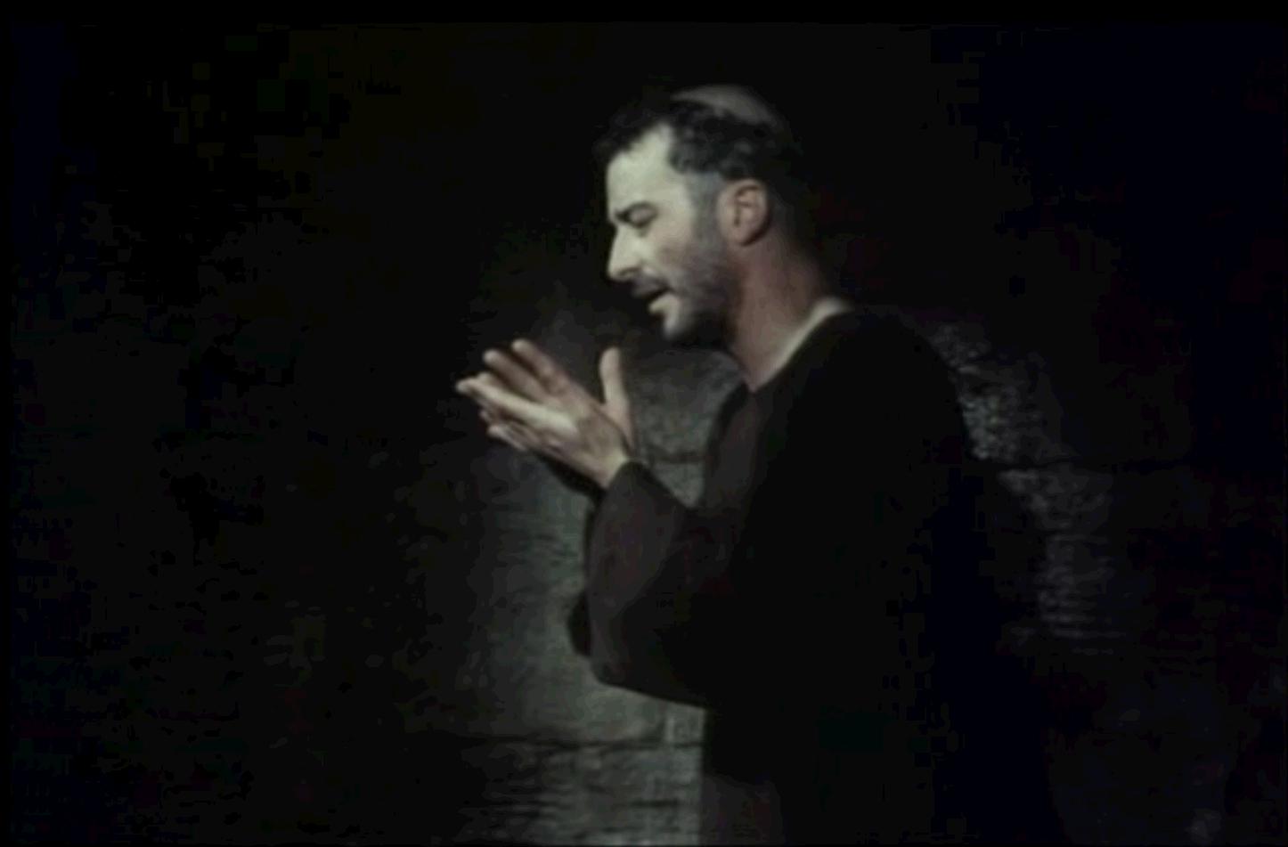 Fotograma de la pel cula la noche oscura de carlos saura 1988